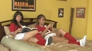 layla rose cheerleader threesome