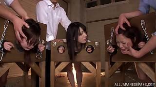 Unhealthy Asian girlhood Ai Uehara, Ami Tokita together with collaborate around eradicate affect stockade